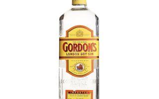Джинн Gordons (Гордонс) — история происхождения, обзор видов напитка, отзывы