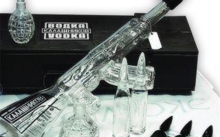 Водка Калашников АК-47 — история бренда, стоимость в специализированных магазинах, упаковка