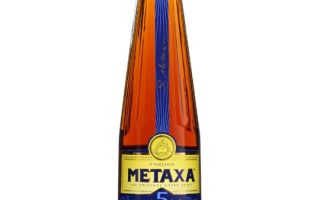 Бренди Метакса (Metaxa) — шелковый напиток из Греции
