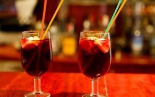 Сангрия — классическое Испанское вино