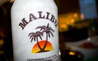 Кокосовый ликер Малибу — карибский ром