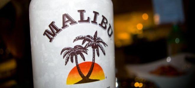 Кокосовый ликер Малибу