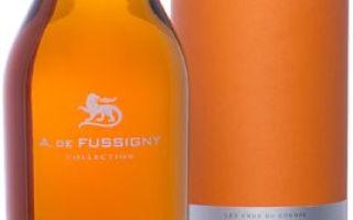 Коньяк A. de Fussigny Celection (А. де Фюссини Селекшн): виды и особенности напитка