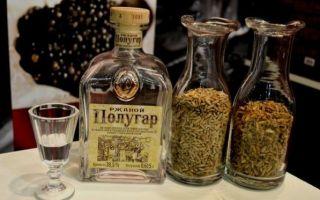Полугар или хлебное вино — старинный русский напиток