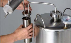 Гидрозатвор для самогонного аппарата своими руками домашние пивоварни brewmaster