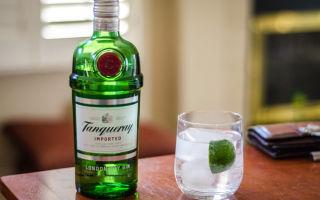 Джин Tanqueray (Танкерей) — особенности напитка премиум класса