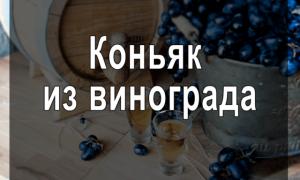 Как приготовить коньяк в домашних условиях из винограда
