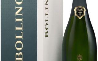 Вино Bollinger (Болинджер) — история и описание игристого напитка