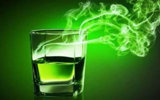 Абсент — описание напитка, крепость и галюциногенность (составляющие элементы)