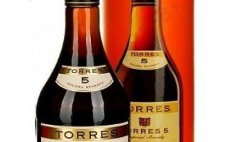 Бренди Торрес (Torres) — не коньяк, описание испанского напитка