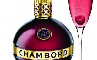 Ликер Chambord (Шамбор) — история создания, описание продукта