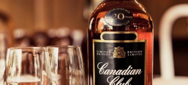 Крепкий канадский виски