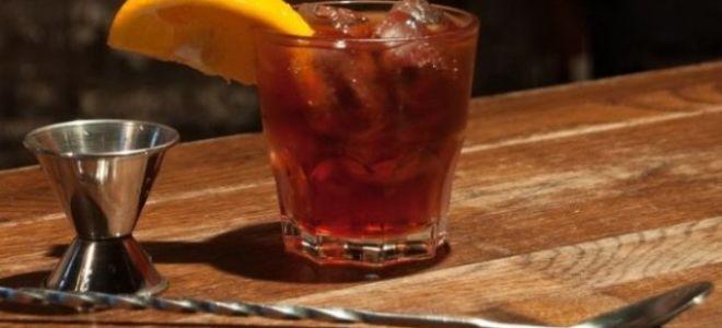 Рецепт коктейля Негрони: приготовление в домашних условиях