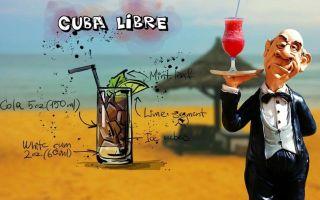 Коктейль «Куба Либре» — лучшие рецепты приготовления