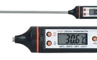 Какой выбрать термометр для самогонного аппарата?