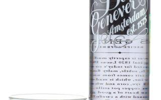 Джинн Bols Genever (Болс Женевер) — особенности голландского напитка
