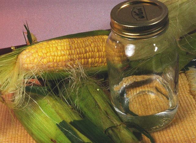 из кукурузы спирт