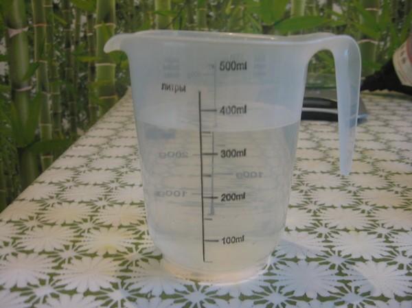 разбавляем с водой