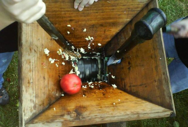 Дробилка яблок