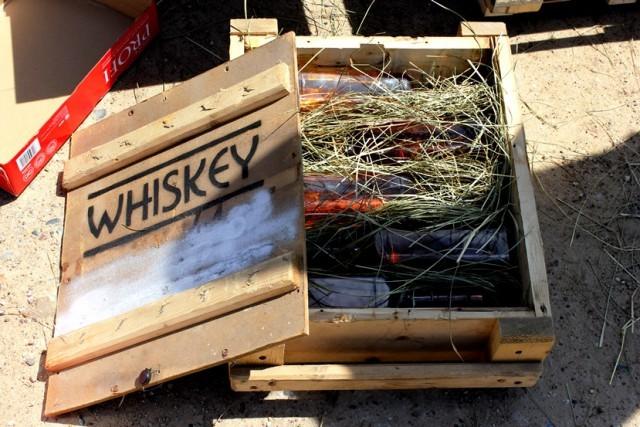 виски в коробке