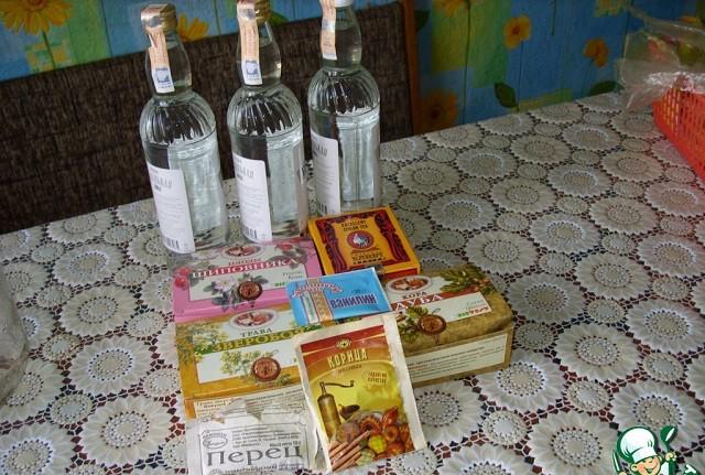 ингредиенты для дамского коньяка