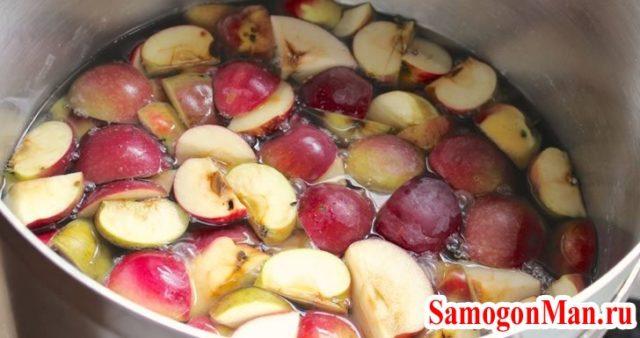 Яблочная бражка