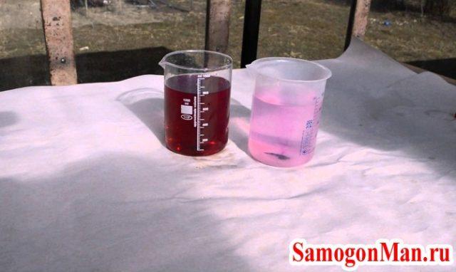 очистка самогона кровью