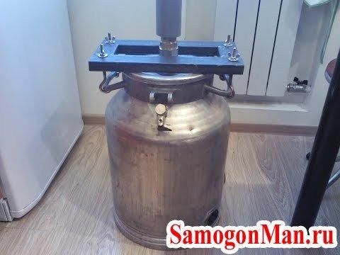 самодельный аппарат для самогона