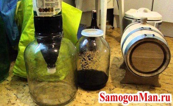 Как сделать очистку самогона