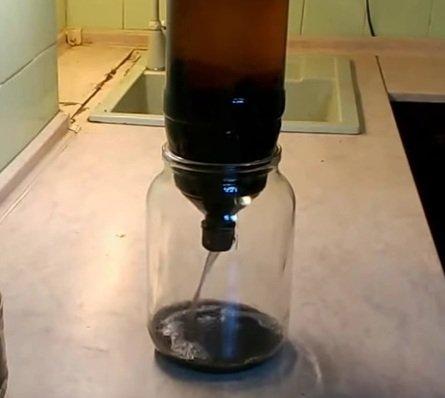 процесс фильтрации