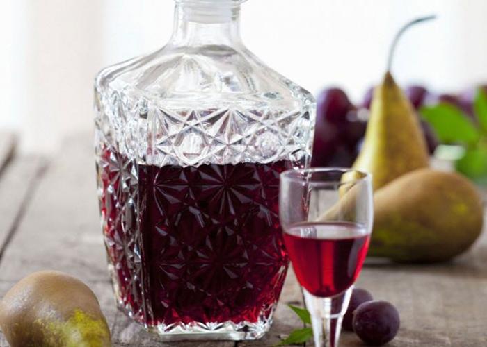 Сливовая настойка на спирту рецепт