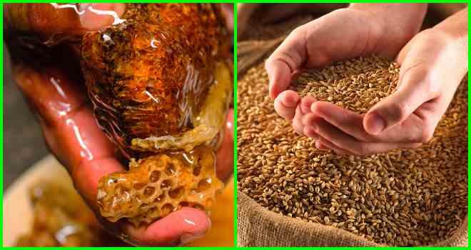 пшеница и мед