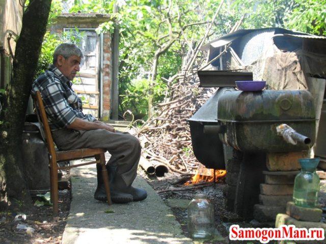 Как приготовить чачу в домашних условиях