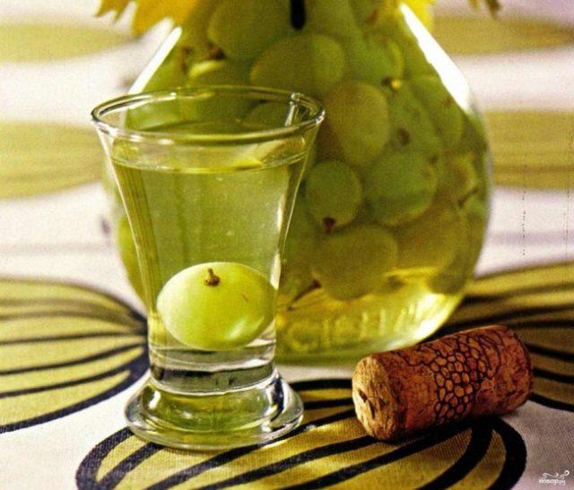наливка из белого винограда