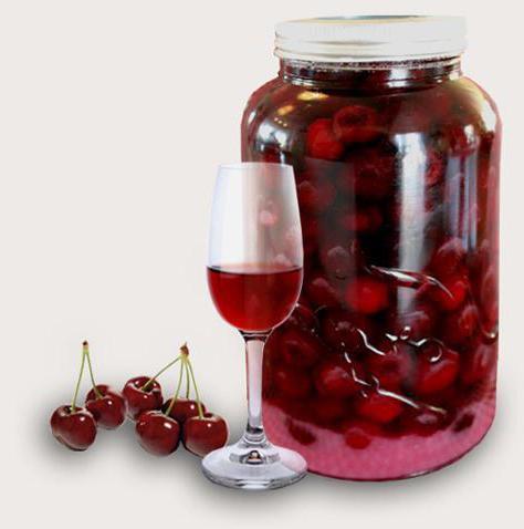 Рецепт домашний наливки из вишни в домашних условиях
