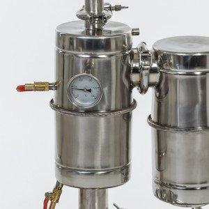 Самогонный аппарат с дефлегматором своими руками купить универсальную коптильню для горячего и холодного копчения