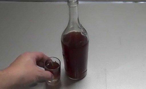 выжимки винограда со спиртом