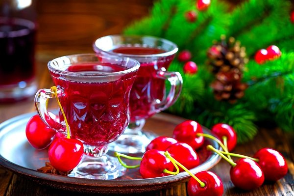 ароматическая на ягодах