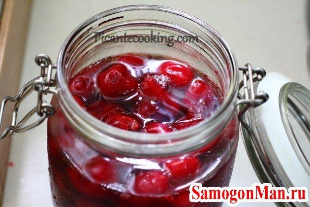Рецепт наливки из вишни в домашних условиях