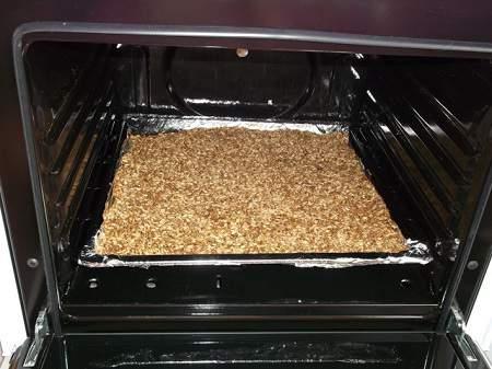 сушка зерновых в духовке