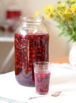 джин с ягодами