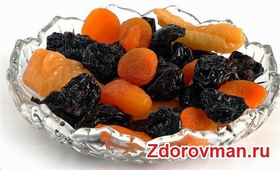 абрикос и изюм