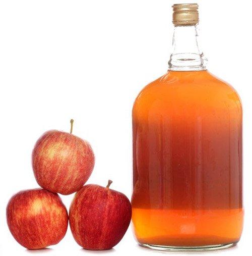 яблочный сидр в бутылке
