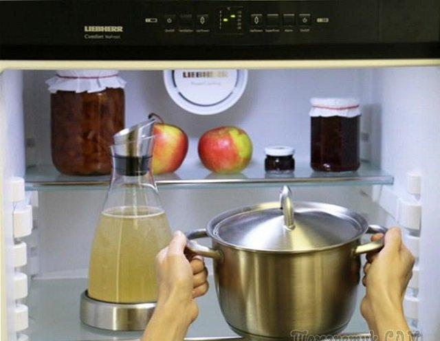 ставим в холодильник для хранения