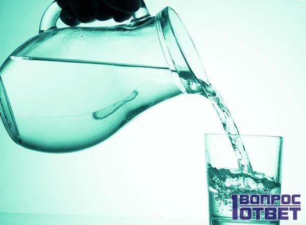 льем воду