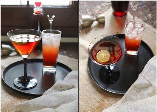 коктейль из вишневого ликера