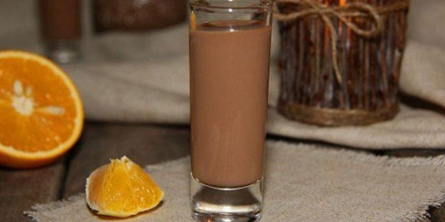 с шоколадным молоком