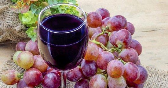 выжимки винограда