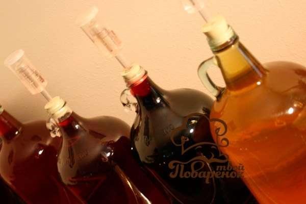 Почему не играет вино из вишни