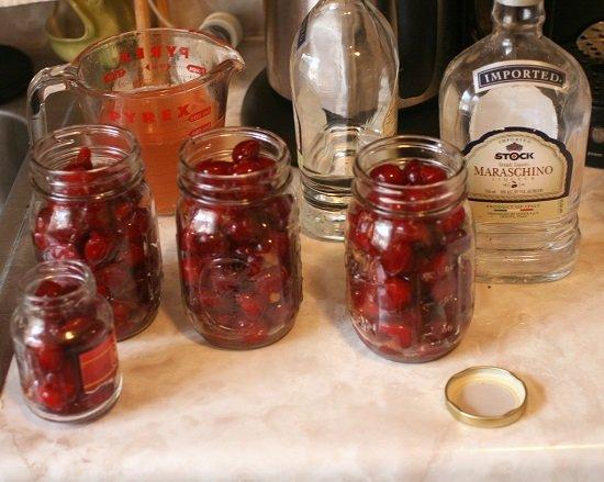 водка с вишней